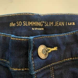 Chico's So Slimming Jeans, New no tags